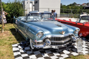 Cadillac Série 62 IV 1955 - American Roadrunners 2018, Stadtbredimus