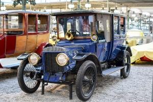 Daimler TE 20 Coupé-Chauffeur 1912 - Cité de l'automobile, Collection Schlumpf