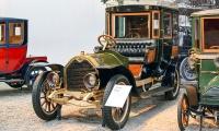 Darracq type SS 20/28 Coupé-Chauffeur 1907 - Cité de l'automobile, Collection Schlumpf
