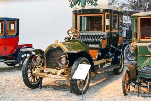 Darracq type SS 20/28 Coupé-Chauffeur 1907 - Cité de l'automobile, Collection Schlumpf