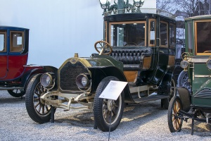 Darracq type SS 20/28 Coupé-Chauffeur 1907 - Cité de l'automobile, Collection Schlumpf 2020