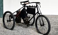 De Dion-Bouton tricycle 2 3/4 1898 - Cité de l'automobile, Collection Schlumpf