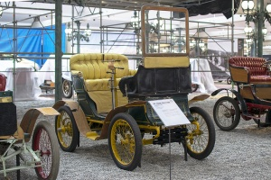 De Dion Bouton type G Vis à Vis 1901 - Cité de l'automobile, Collection Schlumpf 2020