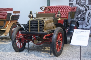 Decauville 10 HP Tonneau 1903 -Cité de l'automobile, Collection Schlumpf 2020
