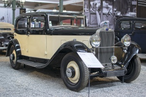 Delage D6-11 Berline 1933 - Cité de l'automobile, Collection Schlumpf 2020