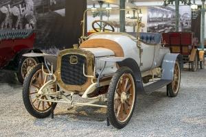 Delahaye type 28A Torpedo 1908 - Cité de l'automobile, Collection Schlumpf 2020