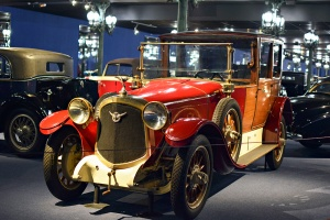 Farman A6 B Coupé chauffeur 1923 - Cité de l'automobile, Collection Schlumpf