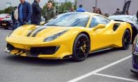 Ferrari 488 Pista - Cars & Coffee Deluxe Luxembourg Mai 2019