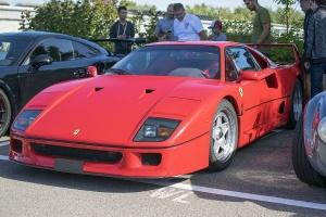 Ferrari F40 - Cars & Coffee Deluxe Luxembourg Septembre 2019
