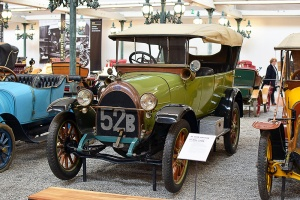Fiat 52B Torpedo 1918 - Cité de l'automobile, Collection Schlumpf
