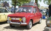 Fiat 850 - Rêve américain, Balastière Meeting, Hagondange, 2019