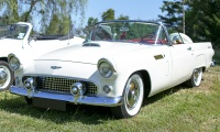 Ford Thunderbird I 1956 - Automania 2019, Edling les Anzeling, Hara du Moulin