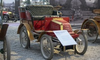 Georges Richard série E tonneau 1897 - Cité de l'automobile, Collection Schlumpf, Mulhouse, 2020