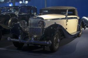 Hispano-Suiza K6 Van Vooren Cabriolet 1932 - Cité de l'automobile, Collection Schlumpf 2020