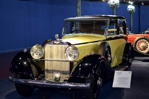 Hispano-Suiza J12 Coupé Chauffeur 1934 - Cité de l'automobile, Collection Schlumpf