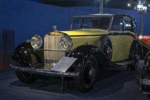 Hispano-Suiza J12 Coupé Chauffeur 1934 - Cité de l'automobile, Collection Schlumpf, Mulhouse, 2020