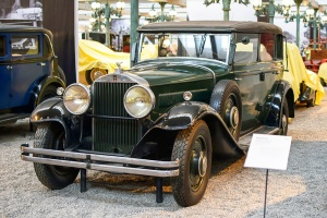 Horch 8 450 Limousine 1931 - Cité de l'automobile, Collection Schlumpf
