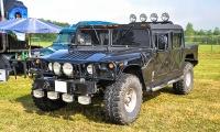 Hummer H1 - Retro Meus'Auto 2018, Lac de la Madine