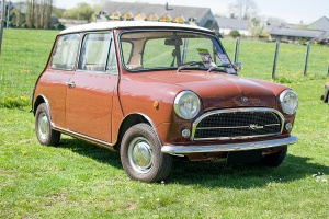 Innocenti Mini 1001 - LOF Oldtimer Breakfast Mamer 2019