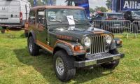 Jeep Renault CJ7 Laredo 1983 - Retro Meus'Auto 2018, Lac de la Madine