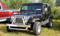 Jeep Wrangler I (YJ) - Retro Meus'Auto 2018, Lac de la Madine