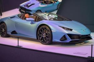 Lamborghini Huracán EVO (phase 2) Spyder 2020 - Cité de l'automobile, Collection Pop Lamborghini, 2020