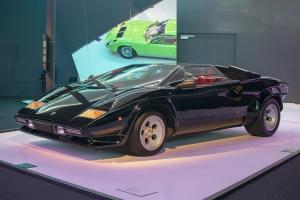 Lamborghini Countach LP500 S - Cité de l'automobile, Collection Pop Lamborghini, 2020