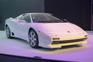 Lamborghini P140  - Cité de l'automobile, Collection Pop Lamborghini, 2020