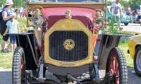 Le Zèbre type A3 1911 - Retro Meus'Auto 2018, Lac de la Madine
