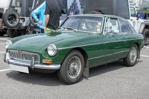 MG B GT - Autos Mythiques 57, Thionville, 2019