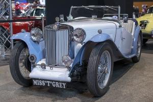 MG TC Midget - Salon ,Auto-Moto Classic, Metz, 2019