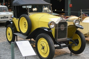 Mathis type P Torpedo 1924 - Cité de l'automobile, Collection Schlumpf
