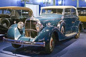Maybach Zeppelin DS8 cabriolet 1934 - Cité de l'automobile, Collection Schlumpf