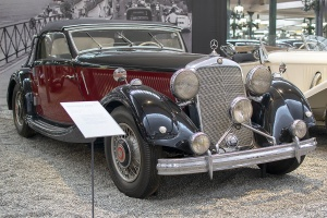 Mercedes-Benz W18 290 1937 - Cité de l'automobile, Collection Schlumpf, Mulhouse, 2020
