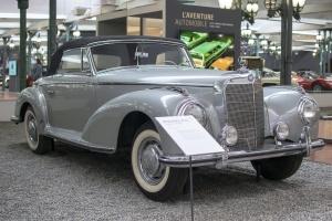 Mercedes-Benz W188 300 S  cabriolet 1955 - Cité de l'automobile, Collection Schlumpf, Mulhouse, 2020