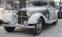 Mercedes-Benz W22 380 cabriolet 1933 - Cité de l'automobile, Collection Schlumpf, Mulhouse, 2020