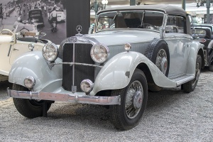 Mercedes-Benz W22 380 cabriolet 1933 - Cité de l'automobile, Collection Schlumpf, Mulhouse, 2020