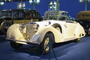 Mercedes-Benz W24 540K 1938 - Cité de l'automobile, Collection Schlumpf