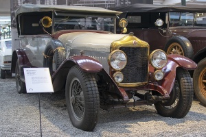 Minerva type AC torpedo 1926 - Cité de l'automobile, Collection Schlumpf, Mulhouse, 2020