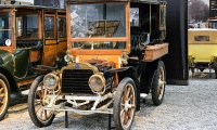 Mors type N Tonneau fermé 1910 - Cité de l'automobile, Collection Schlumpf