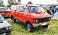 Mowag B300 A8 Pompiers 1982 - Retro Meus'Auto 2018, Lac de la Madine