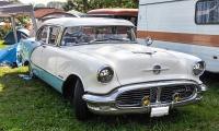 Oldsmobile 98 IV 1956 - Retro Meus'Auto 2018, Lac de la Madine