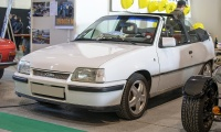 Opel Kadett E GSi cabriolet - Salon ,Auto-Moto Classic, Metz, 2019