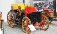 Panhard & Levassor Menier Double Phaeton 1893 - Cité de l'automobile, Collection Schlumpf