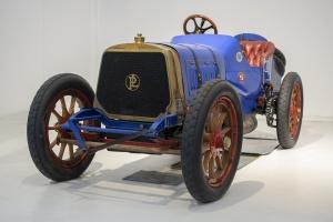 Panhard & Levassor Biplace Course 1908 - Cité de l'automobile, Collection Schlumpf, Mulhouse, 2020