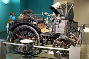 Panhard & Levassor type A P2C n°77 1892 - Cité de l'automobile, Collection Schlumpf