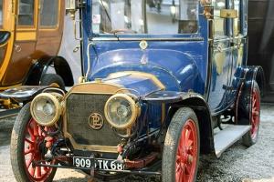 Panhard & Levassor type X5 1911 - Cité de l'automobile, Collection Schlumpf