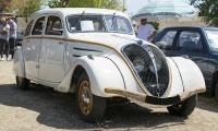 Peugeot 402 B 1938 - Rêve américain, Balastière Meeting, Hagondange, 2019