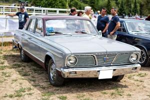 Plymouth Valiant II 1966 - Automania 2017, Edling les Anzeling, Hara du Moulin