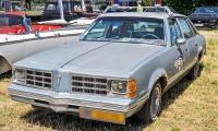Pontiac Grand LeMans V police - American Roadrunners 2018, Stadtbredimus